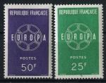 Sellos del Mundo : Europa : Francia : Francia Europa 59