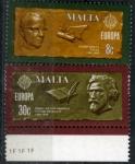 Sellos de Europa - Malta -  eUROPA´80