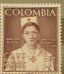 Stamps America - Colombia -  MANUELITA DE LA CRUZ