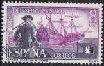 Stamps Europe - Spain -  125 ANIVERSARIO DEL SELLO ESPAÑOL. CORREOS MARÍTIMOS A YNDIAS