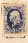 Stamps United States -  Presidente Franklin  Ed 1870