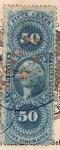 Stamps United States -  Inter Revenus Ed 1862