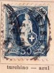 Sellos de Europa - Suiza -  Esfinge Ed 1882