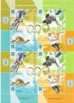 Sellos del Mundo : America : Argentina : Juegos Olímpicos-Atenas 2004