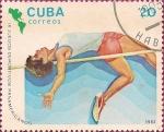 Sellos de America - Cuba -  IX Juegos Deportivos Panamericanos. Salto Alto.