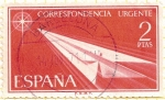 Stamps Spain -  Correo urgente