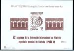 Sellos de Europa - España -   1984 5 Mayo Europ-CEPT.XXV Aniversario