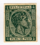 Stamps Asia - Philippines -  Alfonso XII