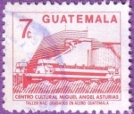 Stamps Guatemala -  Centro cultural Miguel Angel Asturias