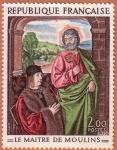 Stamps : Europe : France :  Le maitre de Moulins