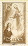 Stamps : Europe : Spain :  Santa Margarita María de Alacoque