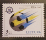 Stamps Europe - Lithuania -  100 AÑOS F.I.F.A.