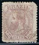 Sellos de America - Brasil -  Scott  90  Emperador Don Pedro