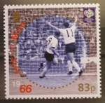 Stamps United Kingdom -  ISLA OF MAN, MUNDIAL FUTBOL ALEMANIA 06