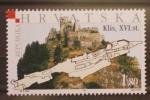 Stamps Croatia -  CASTILLO DE KLIS SIGLO XVI