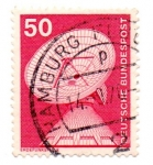 Stamps : Europe : Germany :  -1975-1976-ESTACION TERRESTRE