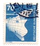 Stamps : Europe : Germany :  1975-1976-CONSTRUCCIONES NAVALES