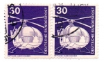 Stamps : Europe : Germany :  1975-1976-HELICOPTEROS