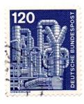 Stamps : Europe : Germany :  1975-1976-CHIMENEAS
