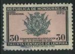Sellos de America - Honduras -  SC276 - Conmemorativo Revolución Octubre