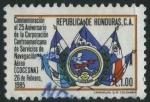 Sellos del Mundo : America : Honduras :  S354 - 25 Aniv. COCESNA