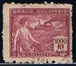 Stamps Brazil -  Scott  232  Navegacion