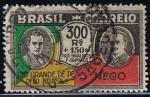 Stamps Brazil -  Scott  347  Getulio Vargas y Joao Pessoa