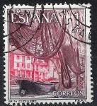 Stamps Spain -  1648 Cullidero, Asturias.