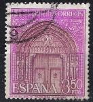 Sellos del Mundo : Europa : España :  1879 Iglesia de Santa María de Sangüesa, Navarra.