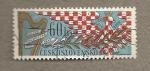 Sellos de Europa - Checoslovaquia -  50 Aniv. Conservatorio Brno