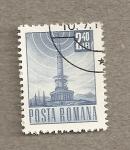 Stamps Romania -  Emisora radio