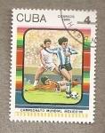 Sellos del Mundo : America : Cuba : Campeonato Mundial México 1986