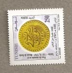 Sellos de Africa - Túnez -  Moneda de 1767