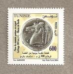 Stamps Africa - Tunisia -  Moneda púnica 300 aC