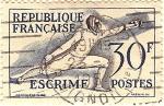 Stamps France -  Escrime