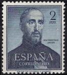 Sellos del Mundo : Europa : España : 1118  IV Cent.º de la muerte de San Francisco Javier