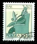 Sellos del Mundo : Europa : Polonia : Zodiaco