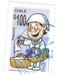 Stamps Chile -  Palomita