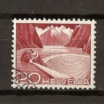 Stamps Europe - Switzerland -  Tecnicas y Paisajes.