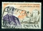 Sellos de Europa - España -  Cent. Compañía Sta Teresa de Jesús