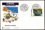 Sellos de Europa - Andorra -  Fiestas Populares  Arlequines de Canillo- SPD