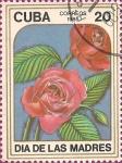 Stamps Cuba -  Día de las Madres. Rosas (II)