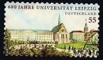 Stamps Germany -  sexto centenario Universidad de Leipzig
