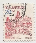 Stamps : Europe : Czech_Republic :  Praha
