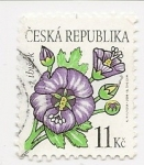 Stamps : Europe : Czech_Republic :  Flores (Marshmallow)