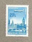 Sellos de Europa - Rumania -  Sobrevolando Londres