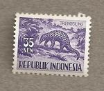 Stamps Indonesia -  Armadillo