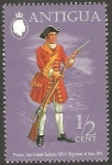 Stamps : America : Antigua_and_Barbuda :  298 - uniforme militar de soldado de regimiento