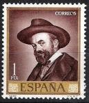 Sellos de Europa - España -  1714 Retrato de Jose María Sert.