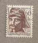 Sellos de Europa - Checoslovaquia -  Donatello
